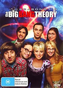 The Big Bang Theory - Season 1- 8 [25 Disc DVD Box Set]