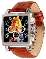 Disney Uhren Miss Piggie Muppet Show Unisexuhr Quarz-Chronograph