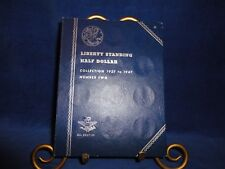 WHITMAN COIN ALBUMS-LIBERTY STANDING HALVES 1937-1947-ALBUM ONLY