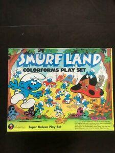 Vintage Smurfland Colorforms Ply Set ~ Circa 1981 ~