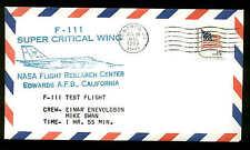 F-111 SUPER CRITICAL WING TEST FLIGHT  7/18/80 EDWARDS, CA--NASA FLIGHT RESEARCH