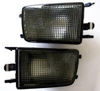 Für VW Golf 3 Vento Frontblinker Schwarz Blinker für Stoßstange Leuchtmittel ink