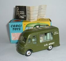 Corgi Toys No. 359, Army Field Kitchen, - Superb.