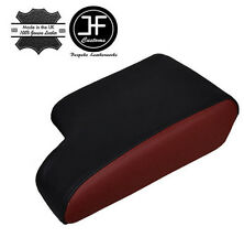 DARK RED BLACK LEATHER FITS BMW E36 1991-1998  ARM REST ARMREST COVER COVER NEW