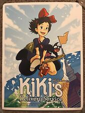 Kiki's Delivery Service Studio Ghibli Art Movie Print Poster Mondo Joshua Budich