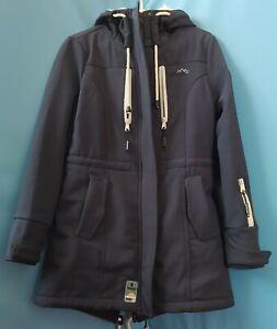 Marikoo Damen Winter Jacke Winterjacke Mantel Outdoor wasserabweisend Softshell