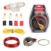 1500W 10GA Cable De Bajo Amplificador Kit MJ-8 Audio RCA Sub FUSE Wiring Wire