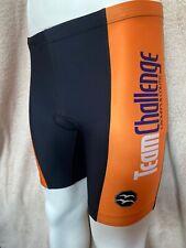 Zoca Crohn's and Colitis Team Padded Triathlon Cycling Shorts, Mens Large