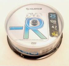 FUJIFILM Campana DVD-R 16 X 4,7 GB - Confezione da 25