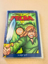 The Legend of Zelda - The Complete Animated Series DVD 3 Disc Set Sealed New