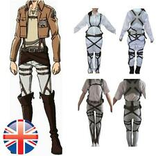 *UK Seller* Cosplay Attack On Titan Belt Adjustable Straps Harness costume