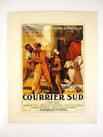 alter Kino Film Druck hinter Passepartouts Southern Carrier 1937 50x40 cm 413