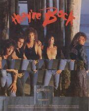 Bon Jovi 'New Jersey' LP advert