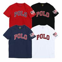 Polo Ralph Lauren Mens T-Shirt Short Sleeve Polo Graphic Tee Shirt New Nwt