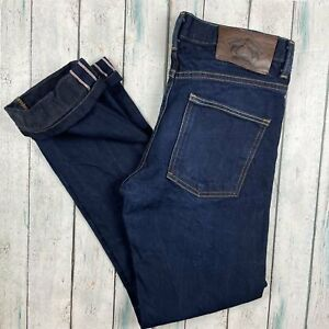 Naked & Famous Indigo Stretch Selvedge 'Skinny Guy' Jeans Made in Canada - Si...