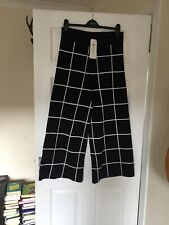 Lindex Cropped Knitted Trousers BNWT Size M