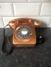 GPO 746 Retro Telephone Copper