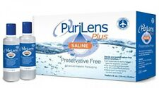 PuriLens Plus Preservative Free Saline Twelve 4fl. oz(120mL)Bottles