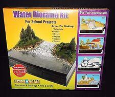 Scene-A-Rama Water Diorama Kit Waterfalls Ponds Rapids School Projects Displays