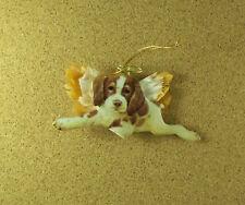Puppy Paradise Sparky Ornament Heirloom Porcelain Collection Lynn Kaatz 2001