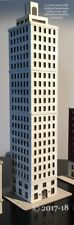 Z Scale Hi-Rise Building! Architecture model also for 1:200-1:250 scales!