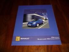 RENAULT CLIO CAMPUS/Campus EXTREME PROSPEKT 09/2006