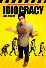 IDIOCRACY Movie POSTER 27x40 B Luke Wilson Maya Rudolph Dax Shepard Eric