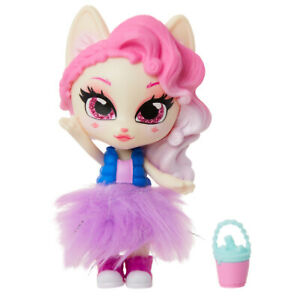 Jakks Series 1 KITTY PURRCINO Kitten Catfe Doll Mystery Purrista Girls IN HAND