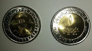 ُEgypt coin Swais Chanel commemorative one pound 2015