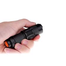Adjustable Focus UltraFire Q5 LED 7W 300lm Bright Mini Flashlight Torch 1 Modes