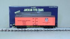 American Flyer 6-44137 Pacific Fruit Express Wood Side Refrigerator Car 91022