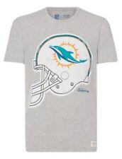 Miami Dolphins NFL American Football Helmet Men's T Shirt : Medium
