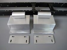 Pair Aluminum Side Step Tank + Plate Tamiya 1/14 RC Globeliner King Grand Hauler