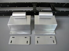 Pair Alum Side Step Tank & Mounting Plate Tamiya RC 1/14 Semi Globe Liner Truck