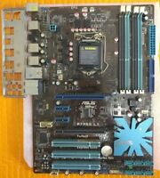 ASUS P7P55 LX Motherboard LGA1156 Socket H P55 2x PCIE x16 + IO Backplate Tested
