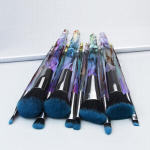 Make Up Brushes Crystal Glitter Powder Foundation Face Lip Pencil Brush UK STOCK