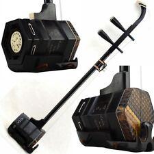 ERHU Chinese 2-string Violin Fiddle Macassar ebony wood Black Sandalwood #070