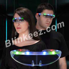 Light Up Party Sunglasses LED STELLAR Blinking SunGlasses -FUN!