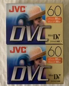Lot of 2 JVC DVC M-DV60DU