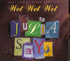 Wet Wet Wet-Julia Says 2 cd maxi single box incl photocards