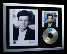 RICK ASTLEY+SIGNED+FRAMED+GIVE YOU UP+HOLD ME ARMS=100% GENUINE+FAST GLOBAL SHIP