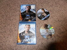 I, ROBOT 3D movie BLU-RAY DVD video W/SLIPCOVER SHIP WORLDWIDE
