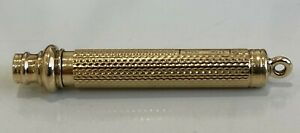 An early 9ct gold Propelling Pencil 6.25g / 45mm
