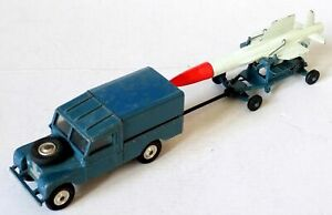 Corgi No.350 Thunderbird Missile on Trolley & 351 RAF Land Rover (Gift Set GS3).