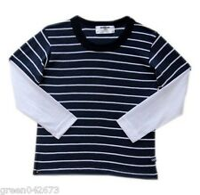 Oshkosh Striped Tees w/ extended sleeves # 5 - For 8 years old, Kids Clothes
