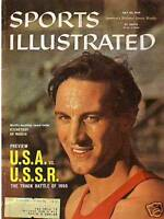 1959 Sports Illustrated July 20 - USA vs. USSR Track