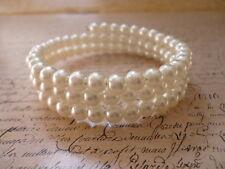 Wonderful Elegant Pearl Pearls White Fashion Wedding Costume Jewellery Bracelet