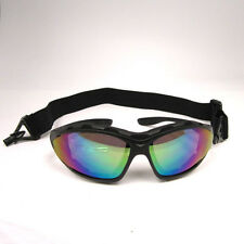 NEW Motorcycle Bike Scooter Mopeds Vespa Racing Goggles Tinted or Smoked Lens