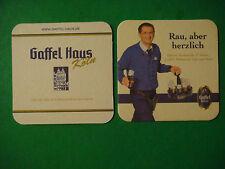 Beer Bar Coaster ~*~ Privatbrauerei Gaffel Becker Haus Kolsch ~*~ Koln, GERMANY