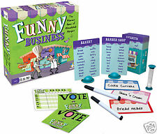 FUNNY BUSINESS - HILARIOUS GAME OF MISMATCHED MERGERS FUN FAMILY GAMEWRIGHT GAME
